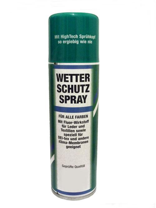 wetterschutzspray
